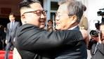 Kuzey ve Güney Kore liderleri bir araya geldi