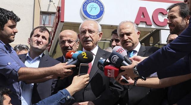 CHP Lideri Kılıçdaroğlu, Saadet Partisi Milletvekili Adayı Öztürkü ziyaret etti