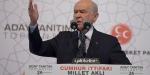 MHP Lideri Devlet Bahçeli seçim beyannamesini açıkladı