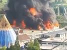 Almanya'nın en büyük eğlence parkında yangın