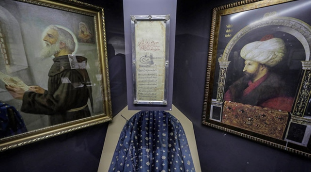 """""""Fatihin Ahidnamesi"""" 555 yıldır Bosnadaki manastırda korunuyor"""