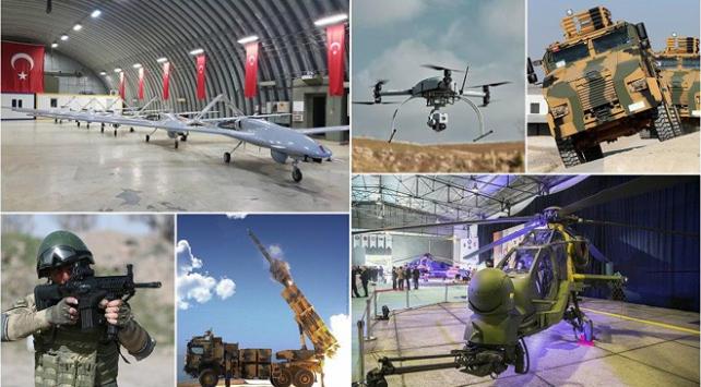 Ülke savunması yeni teknolojilerle güçlendi