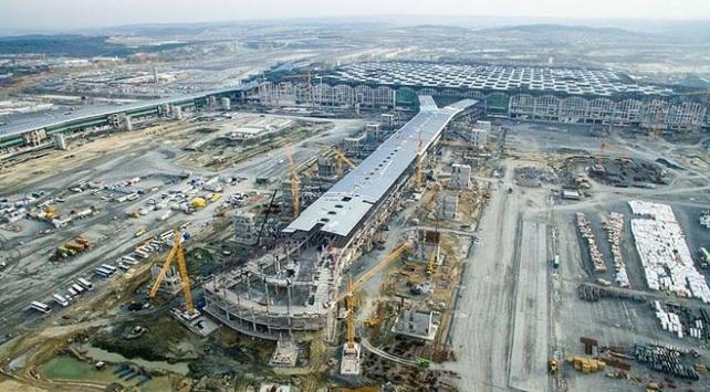 3. Havalimanının yüzde 90ı tamamlandı