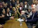 Cumhurbaşkanı Erdoğan pastanede vatandaşlarla sohbet etti