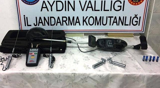 Aydında kaçak kazı yapanlara operasyon: 7 gözaltı