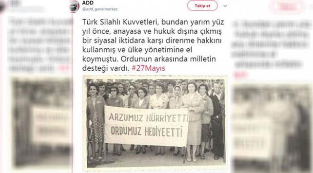 Atatürkçü Düşünce Derneğine 27 Mayıs soruşturması