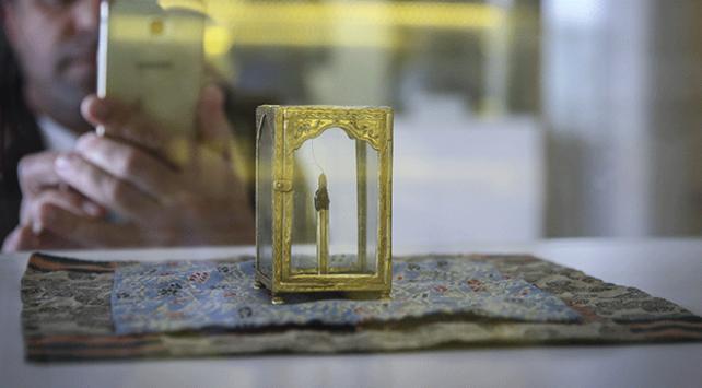 Hazreti Muhammedin mukaddes hatıraları Etnografya Müzesinde sergileniyor