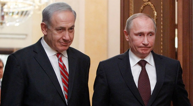 Putin ile Netanyahu Suriyeyi görüştü