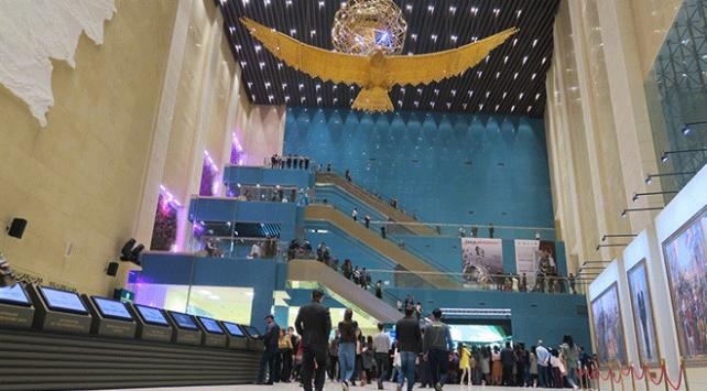 Kazakistan Milli Müzesine ziyaretçilerin ilgisi artıyor