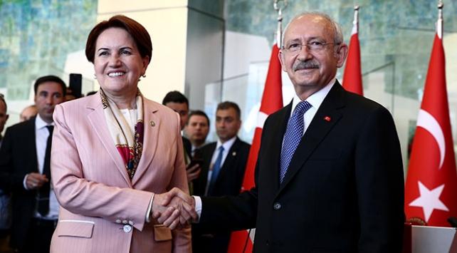 Kılıçdaroğlu ve Akşener, pazartesi günü bir araya gelecek