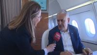 TRT Haber ekibi, Başbakan Yıldırım'ın bir gününe tanıklık etti