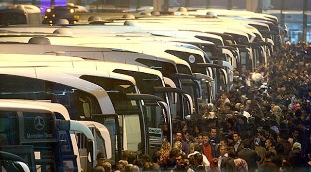 Şehirler arası otobüs firmalarına ek sefer izni