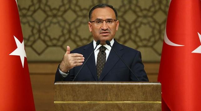 Başbakan Yardımcısı Bozdağ: Türkiyeye dönük tehdit varsa, orası Türkiye için hedeftir