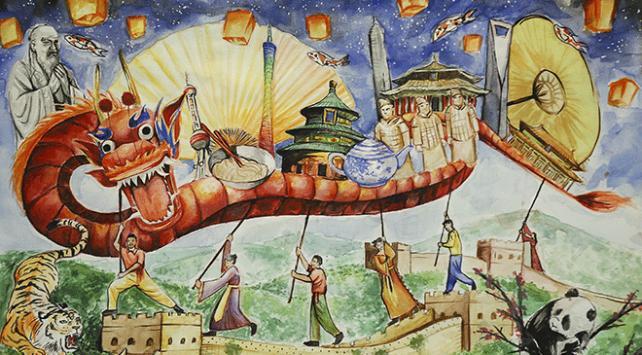 Hayallerini resmettiler, Çin seyahati kazandılar