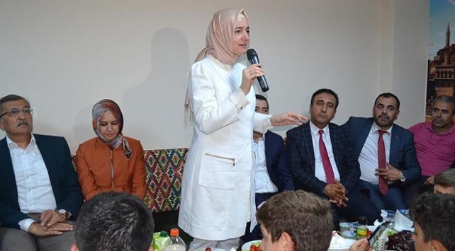 Aile ve Sosyal Politikalar Bakanı Kaya: Ortadoğuda yıkılmamış tek kale Türkiye