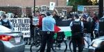 İsrailin Gazze sınırındaki saldırıları ABDde protesto edildi