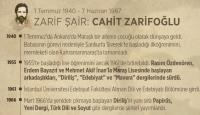 Cahit Zarifoğlu vefatının 31. yılında anılıyor