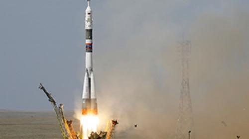 Rus uzay aracı Soyuz MS-09 uzaya fırlatıldı