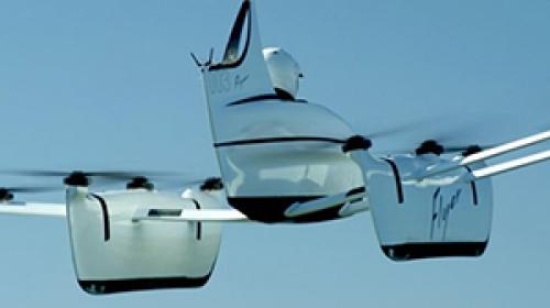 Uçan araba Flyer, test uçuşuna başladı