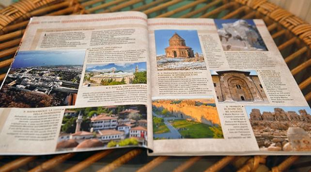 İtalyan ARCHEO dergisi 132 sayfalık Türkiye özel sayısı ile çıktı