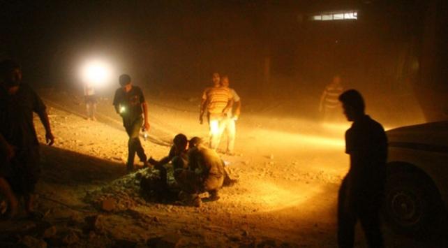 İdlibe hava saldırısı: Ölü sayısı 42ye yükseldi