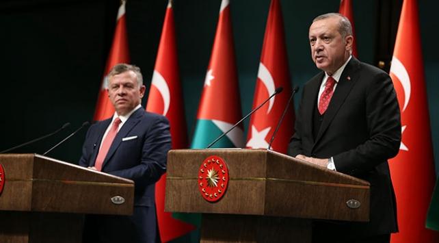Cumhurbaşkanı Erdoğan, Ürdün Kralı 2. Abdullah ile görüştü