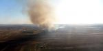 YPG/PKK, Tel Rıfatta ev ve tarlaları ateşe verdi