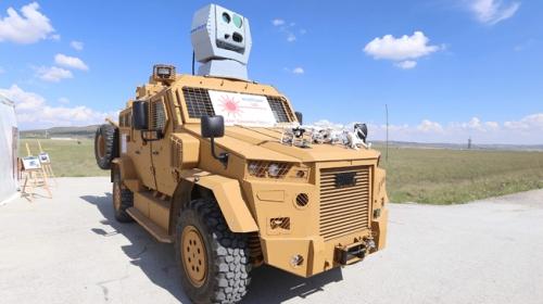 ASELSAN Lazer Savunma Sistemini başarıyla test etti