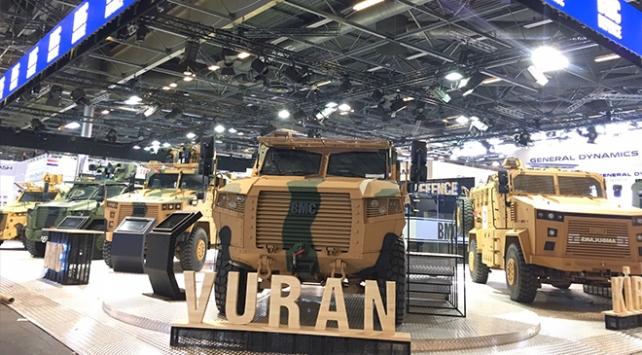 BMC, Kirpi, Amazon, Vuran ve yeni zırhlı kamyonu Pariste sergileyecek