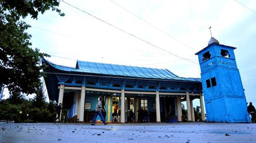 Kırgızistanın çivisiz camisi bir asırdır ayakta