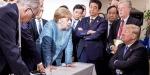 G-7 zirvesi liderler arasındaki gerilimlerin gölgesinde geçti
