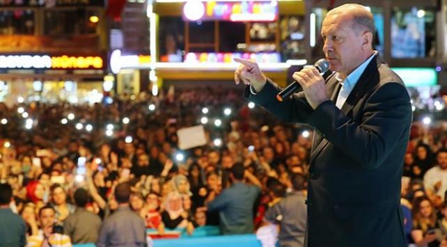 Cumhurbaşkanı Erdoğan: Yeniden bir haçlı-hilal mücadelesi başlayabilir