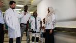 Libyalı Ali Muhammed 14 yaşında ilk adımını attı
