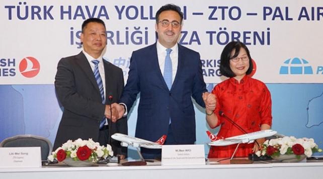 Türk Hava Yollarını kargo sektöründe ilk üçe sokacak ortaklık