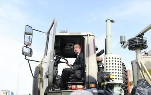 Azerbaycanda uzun menzilli füzeler için yeni kışla