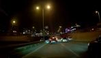 Trafikte tehlikeli hareketler kazaya neden oldu