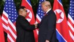Trump-Kim zirvesi Singapurda başladı