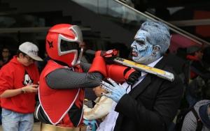 Kolombiyada Comic Con fuarı