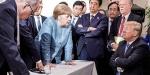 Merkelden Trumpa Avrupa tehdidi