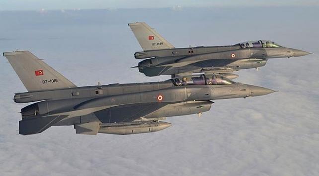 Irakın kuzeyinde 18 terörist etkisiz hale getirildi