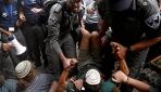 İsrailden Batı Şeriadaki Yahudi yerleşimcilere göstermelik müdahale