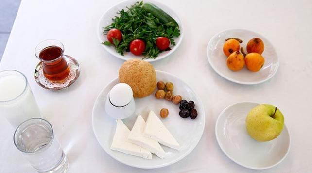 Ramazan Bayramında düzenli ve dengeli beslenmeye dikkat