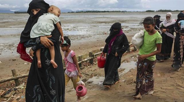 Arakanlı Müslümanları bu kez muson tehlikesi bekliyor