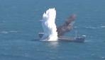 TCG YILDIRAY denizaltısı hedefini böyle batırdı