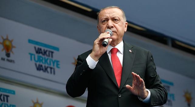 Cumhurbaşkanı Erdoğan: Ben bu ülkenin has evladıyım