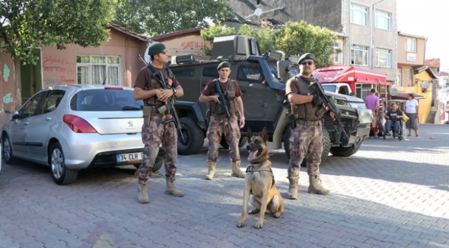 İstanbulda özel harekat destekli narkotik operasyonu