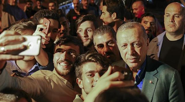 Cumhurbaşkanı Erdoğanı memleketinden hemşehrileri uğurladı