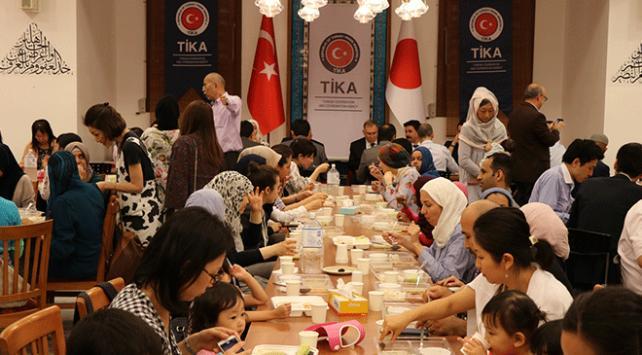 TİKA Japonyada ilk kez iftar sofrası kurdu