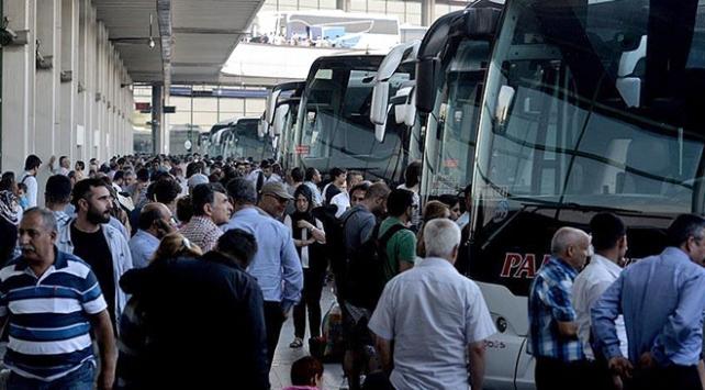 İstanbula dönüş biletleri tükendi