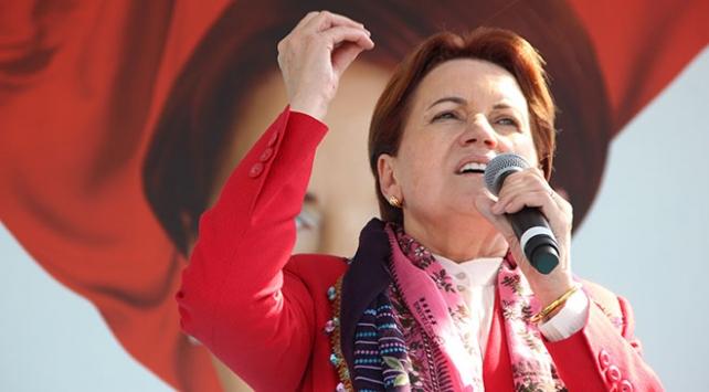 İyi Parti Cumhurbaşkanı Adayı Meral Akşener, Mardinde halka hitap etti